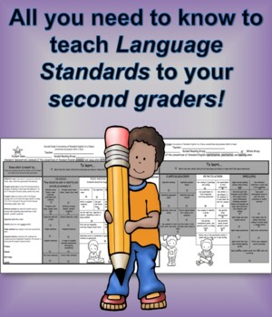 Language Standards at a Glance Second Grade