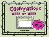 Conventions Week by Week
