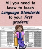 Conventions of Standard English at a Glance First Grade