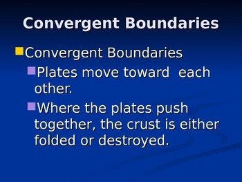 Convergent/Transform boundaries