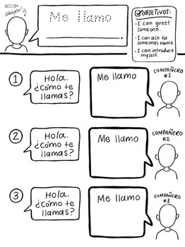Conversación Básica: Primary Spanish Partner Interview
