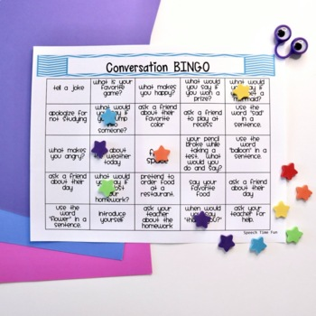 Conversation BINGO