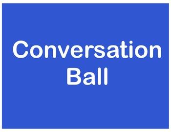 Conversation Ball
