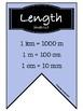 Conversation Banner- Length, Volume, Roman Numerals, Tempe