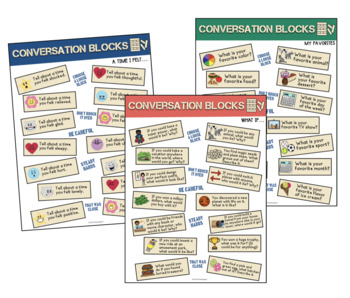 Conversation Blocks: An UN-stacking Game! (game companion)