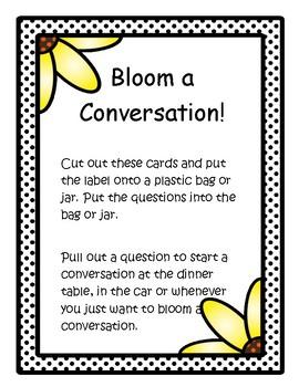 Conversation Bloomers