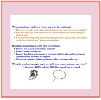 Social Skills Conversation Builder