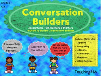 Accountable Talk- Conversation Builders
