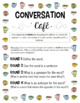 Conversation Cafe Vocabulary Station