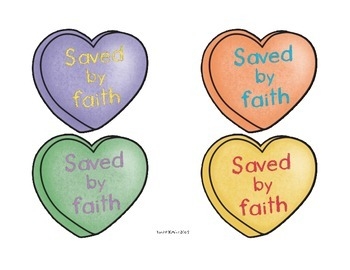 Conversation Candy Hearts: Decor for the Christian Classroom