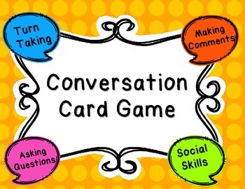Conversation Card Game