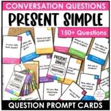ESL Conversation Cards - Present Simple