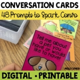 Conversation Cards | Distance Learning