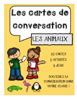Conversation Cards - Animals