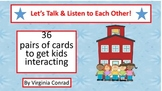 Conversation Cards---Assorted Topics---No Reading Required