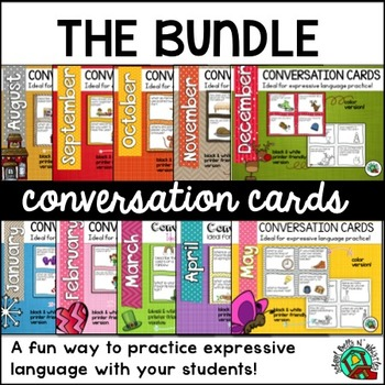 Conversation Cards BUNDLE