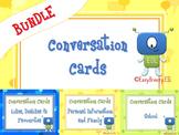 Conversation Cards Bundle: 3 Sets of Conversation Cards (a