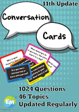 Conversation Questions Cards 1024 Questions 46 Topics (upd