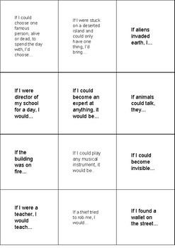 Conversation Cards - Conditionals