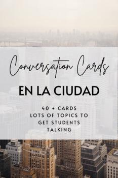 Conversation Cards: En la Ciudad