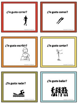 Conversation Cards- Gustar
