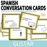 Gustar Speaking Activity Conversation Card Set