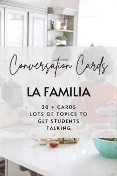 Conversation Cards: La Familia