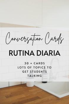 Conversation Cards: La Rutina Diaria