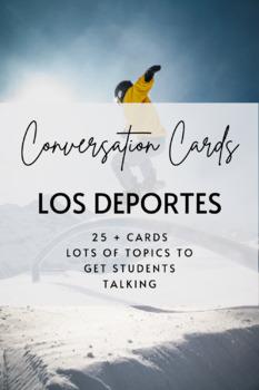 Conversation Cards: Los Deportes