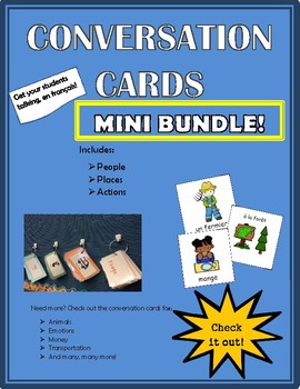 Conversation Cards - Mini Bundle