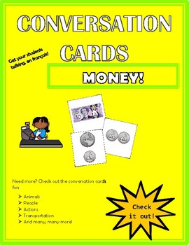 Conversation Cards - Money
