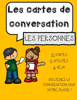 Conversation Cards - People