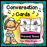 ESL Conversation Starters: Present Tense & Adverbs of Frequency