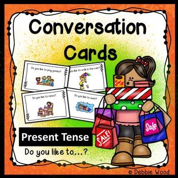 ESL Conversation Starters:  Present Tense (Likes and Dislikes)