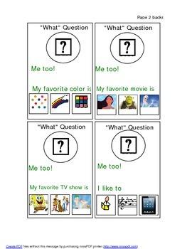 Conversation Cards Set 1