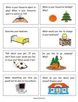 Conversation Cards Set A