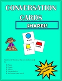 Conversation Cards - Shapes