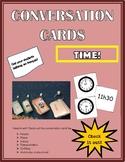 Conversation Cards - Time