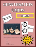 Conversation Cards - Time