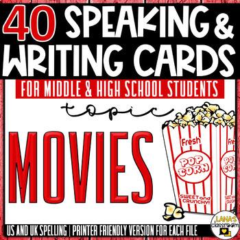 Movies Conversation Task Cards