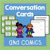 Conversation Cards and Comic Strips, Social Skills, Role P