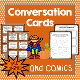 Back to School, Conversation Cards and Comics, Fall Theme,