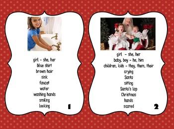 Conversation Cards for Language Development:  WIDA ACCESS Speaking Practice