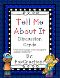 Conversation Cards for Speech and Language, Literacy, Common Core