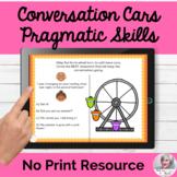 Conversation Topic Maintenance NO PRINT Speech Therapy | D