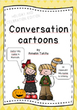 Conversation Cartoons HOLIDAY AND CELEBRATION EDITION