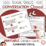 Conversation Chaos!! Improve Conversation Skills!