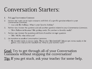 Conversation Commons: Developing Conversational Turn Taking