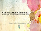 Conversation Commons: Developing Conversational Turn Taking