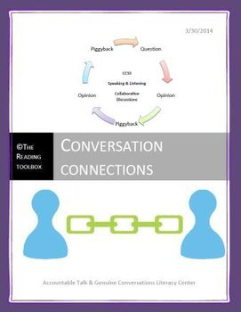 Conversation Connections Speaking and Listening Literacy Center